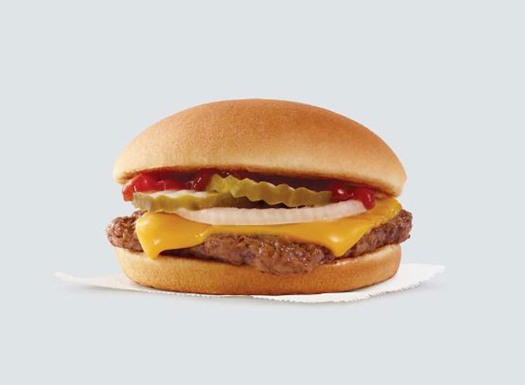 wendy's menu jr cheeseburger