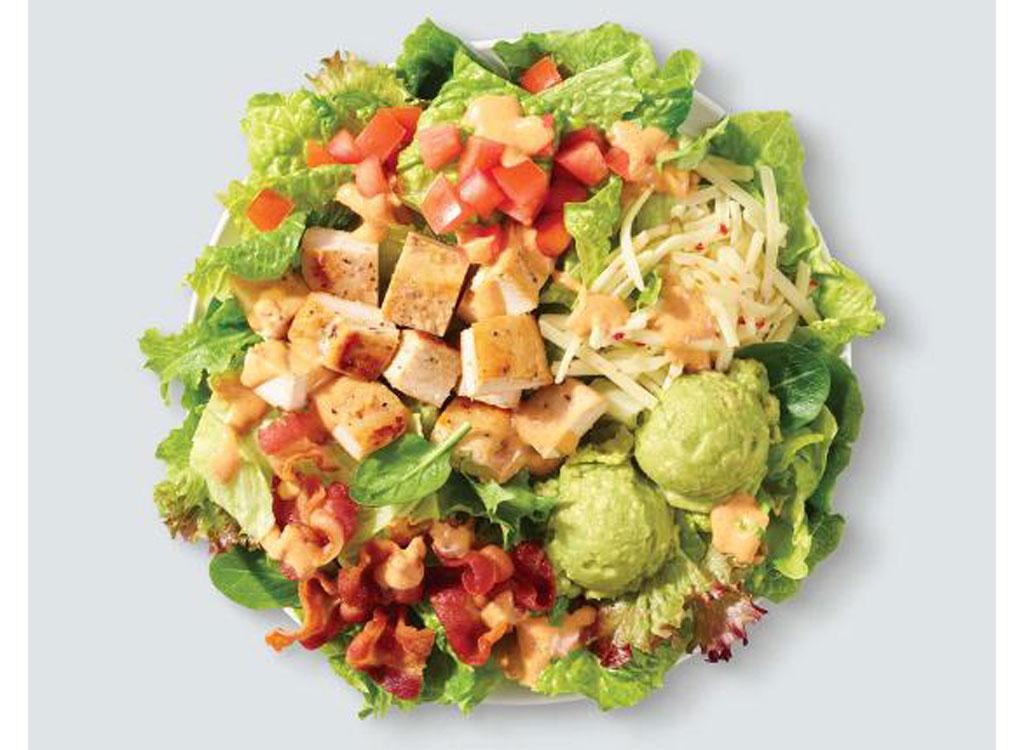 wendy's menu southwest chicken salad