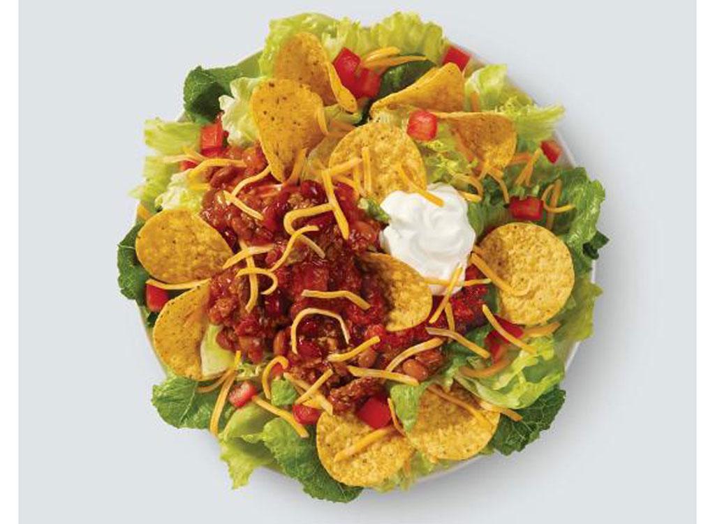 wendy's menu taco salad