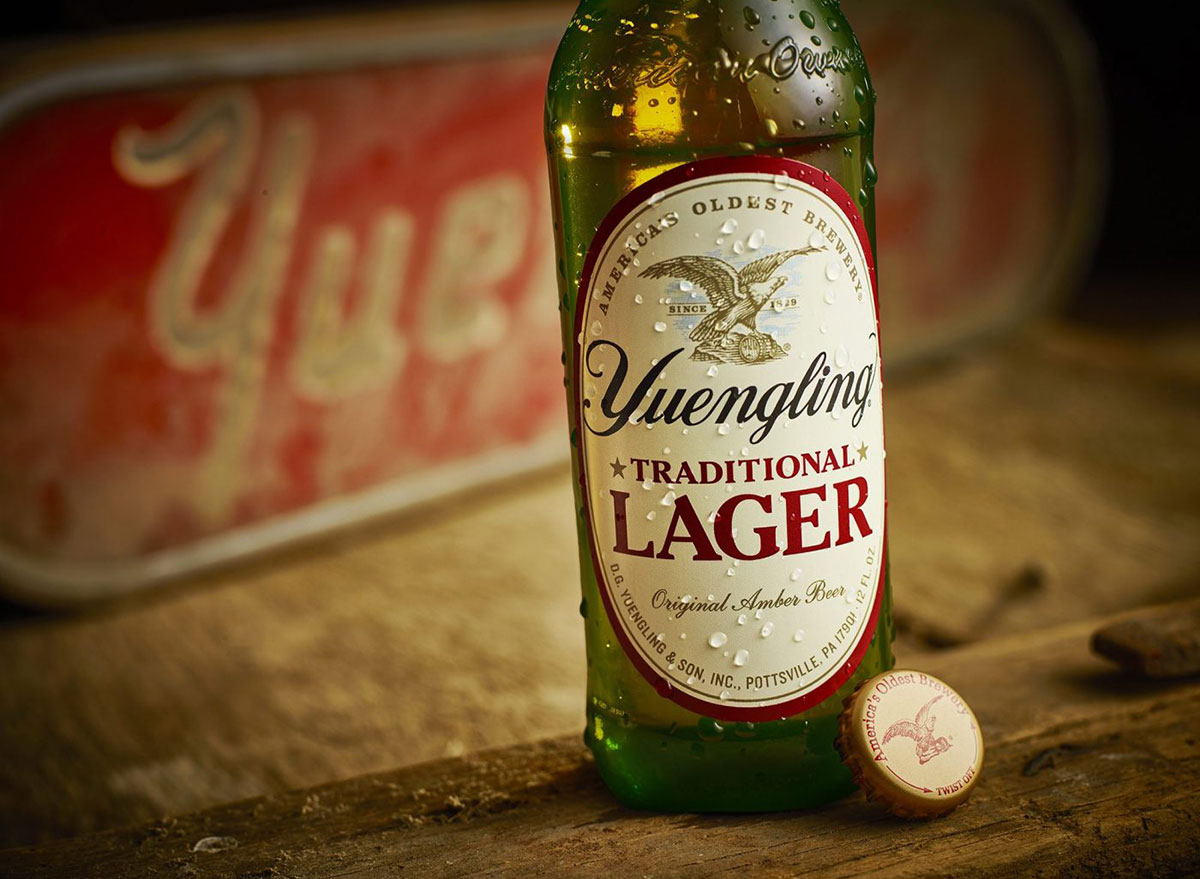 yuengling lager beer bottle most popular beer indiana