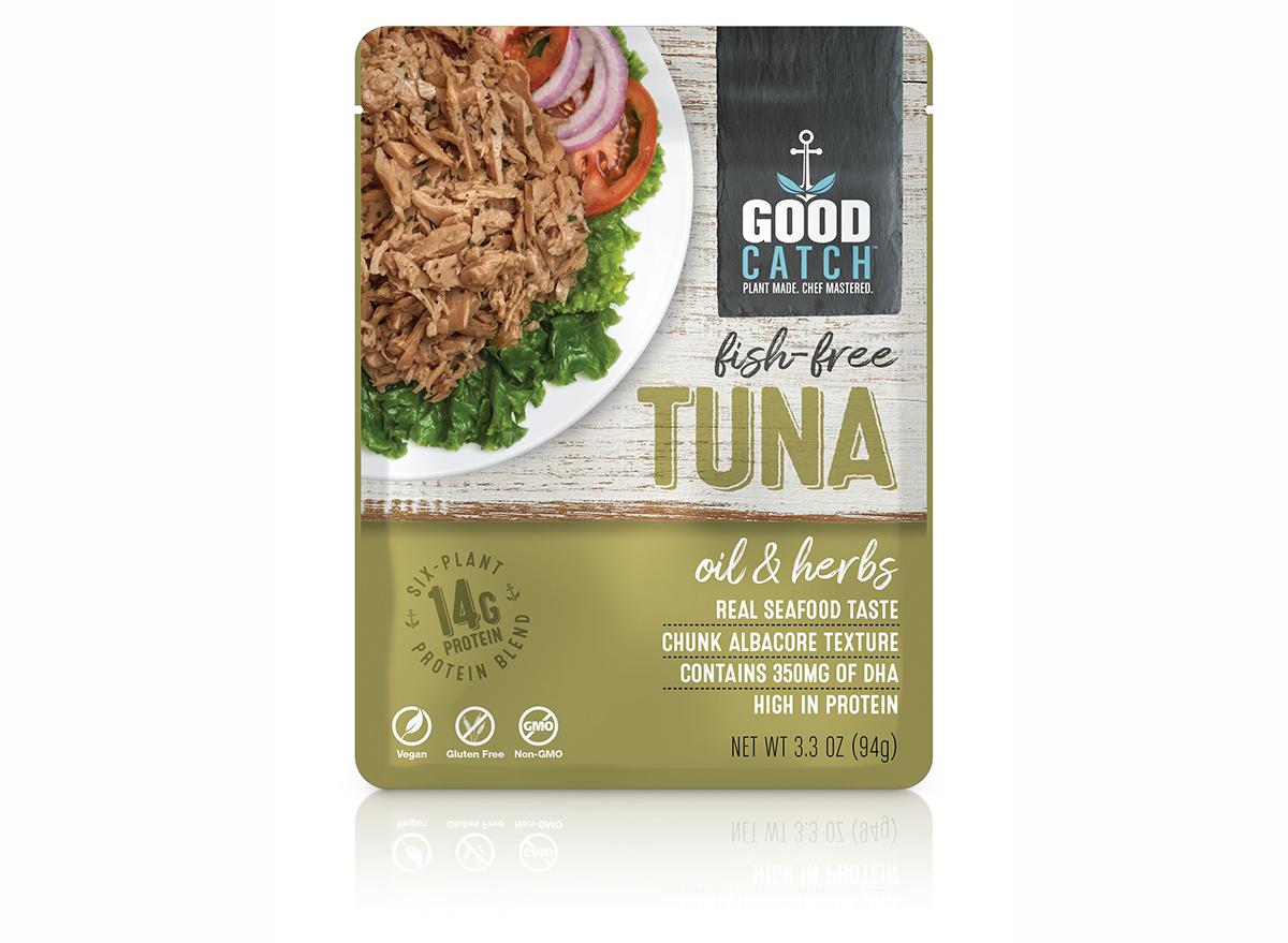 good catch fish free tuna oil & herbs flavor