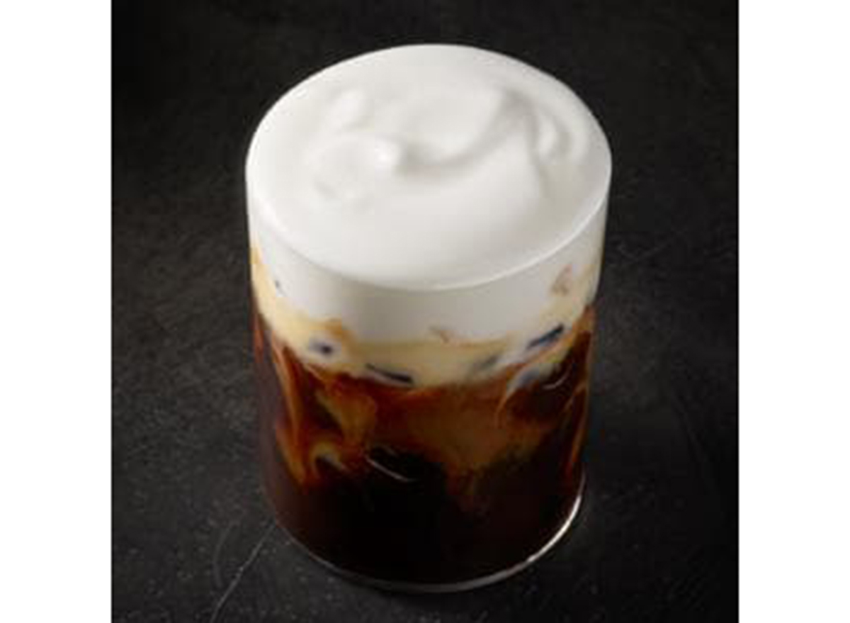 starbucks iced cappuccino with cold foam