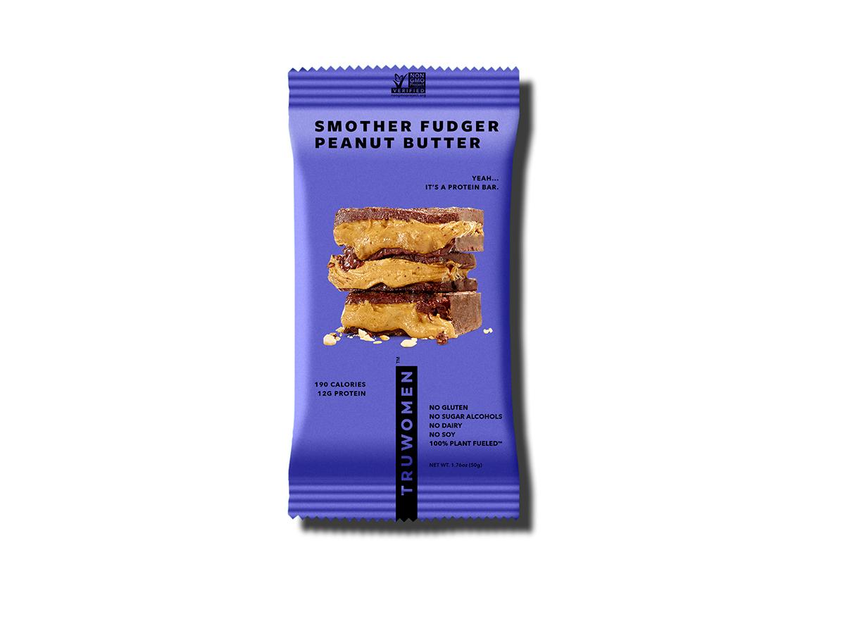 smother fudger peanut butter