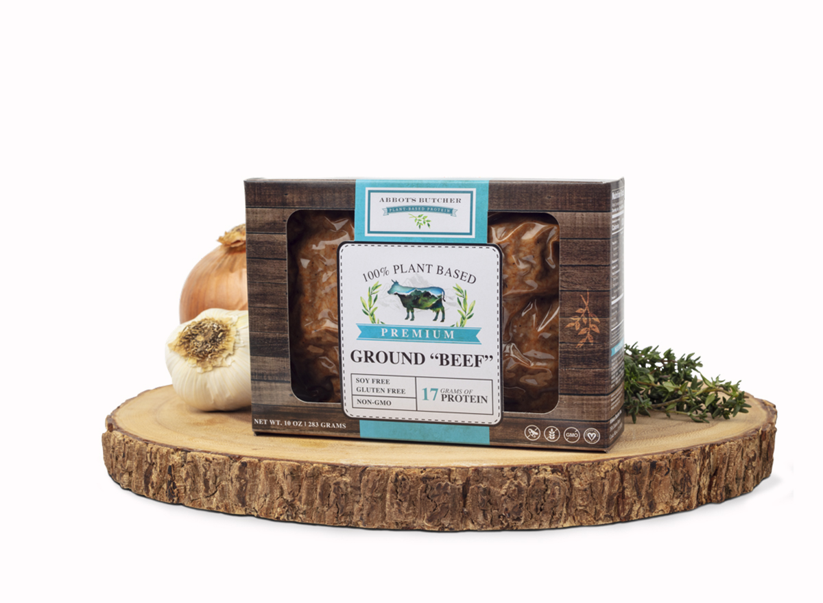 abbots butcher plant-based ground beef