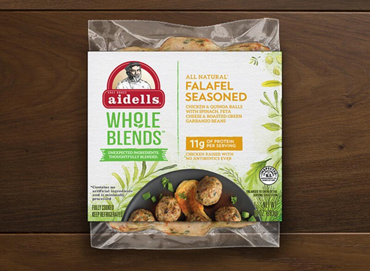 aidells whole blends falafel seasoned bag