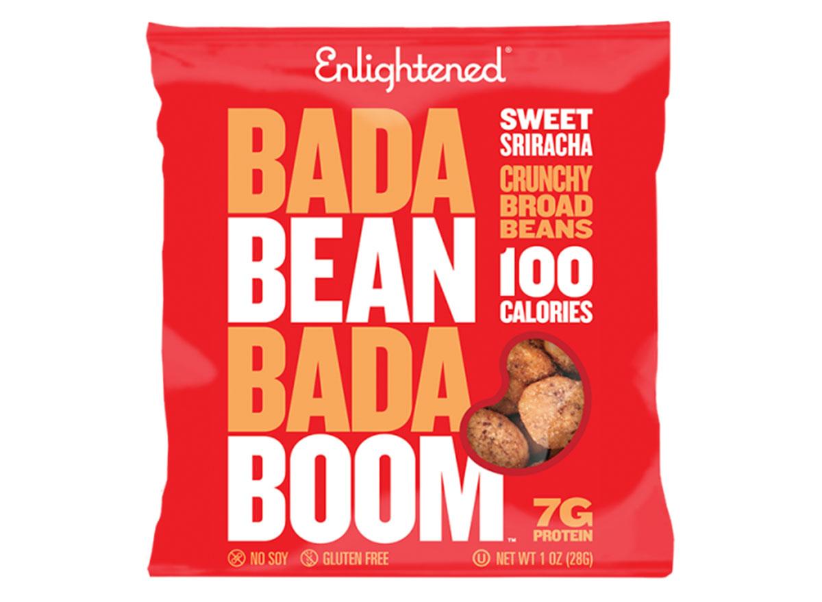 bada bean bada boom crunchy broad beans sweet sriracha bag