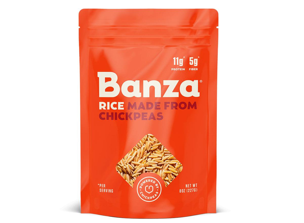 banza chickpea rice bag