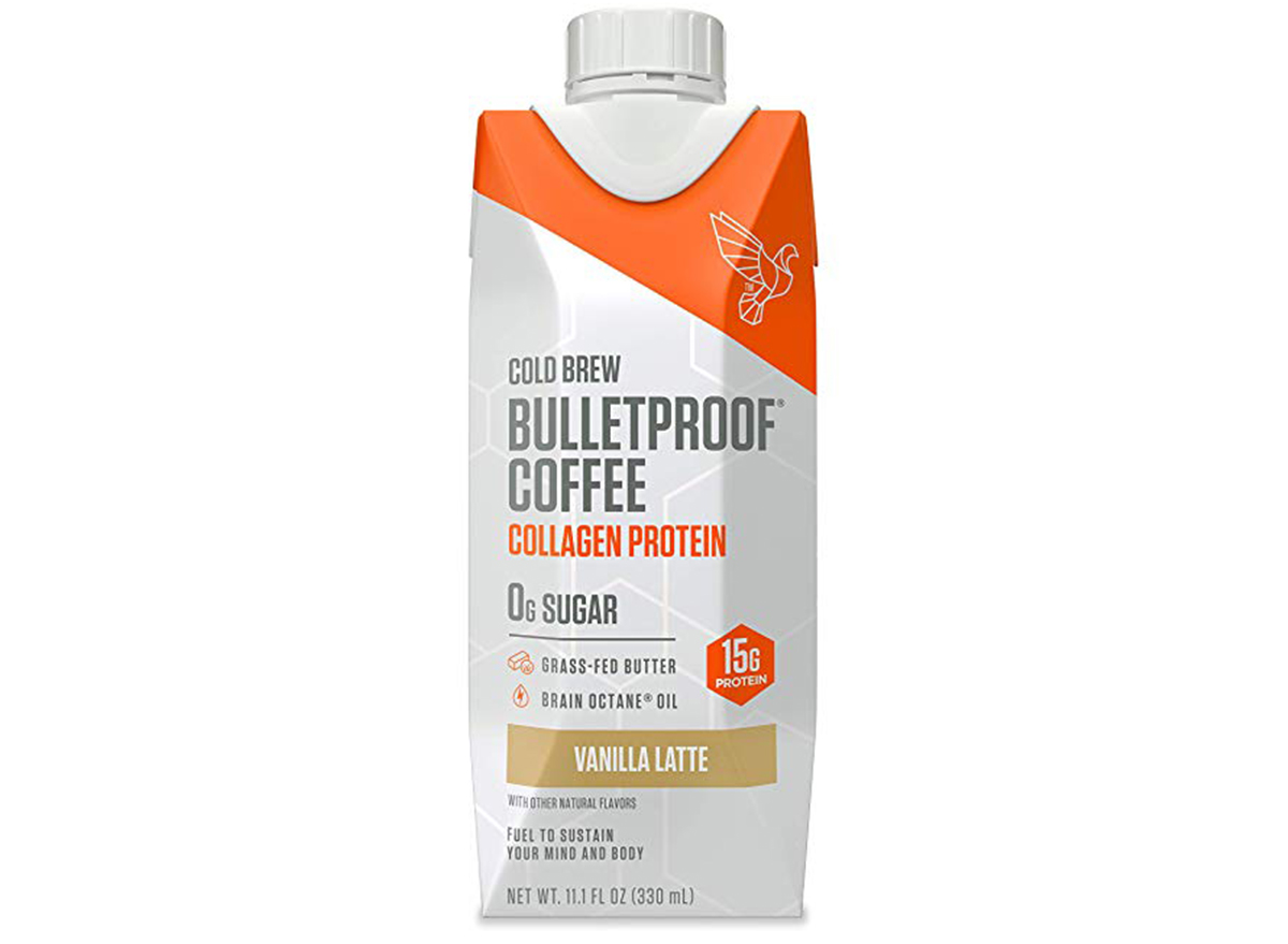 bulletproof vanilla cold brew with collagen protein