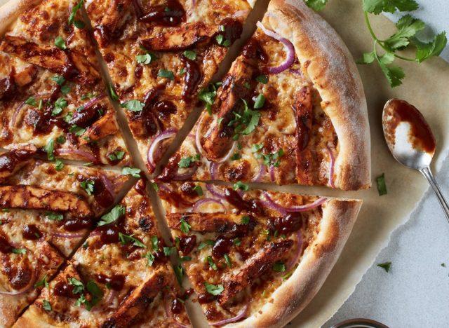 bbq california pizza from california pizza kitchen