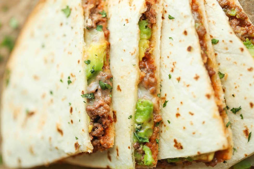avocado cheese quesadilla damn delicious recipe