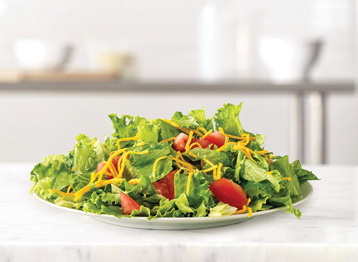 arbys chopped side salad