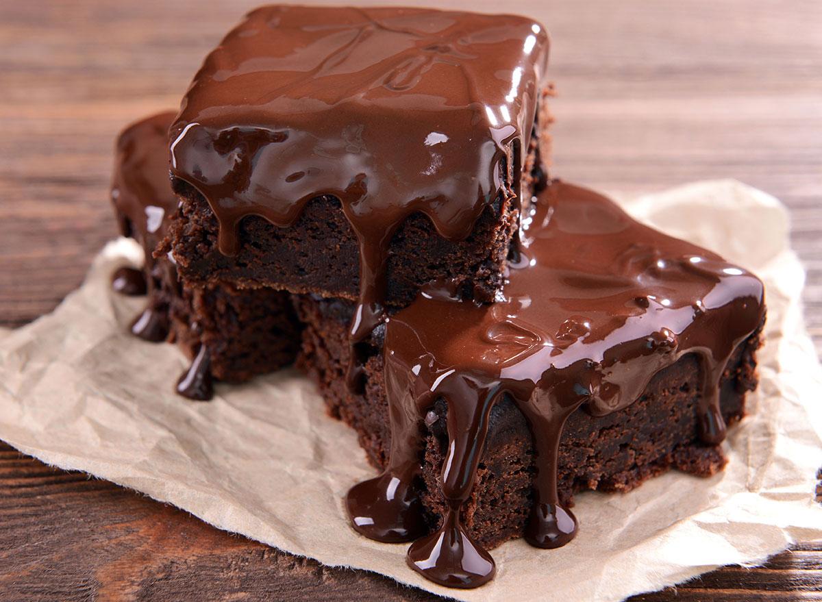 gooey chocolate coca-cola cake