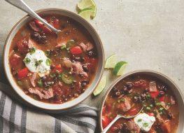 cuban tomato and black bean soup
