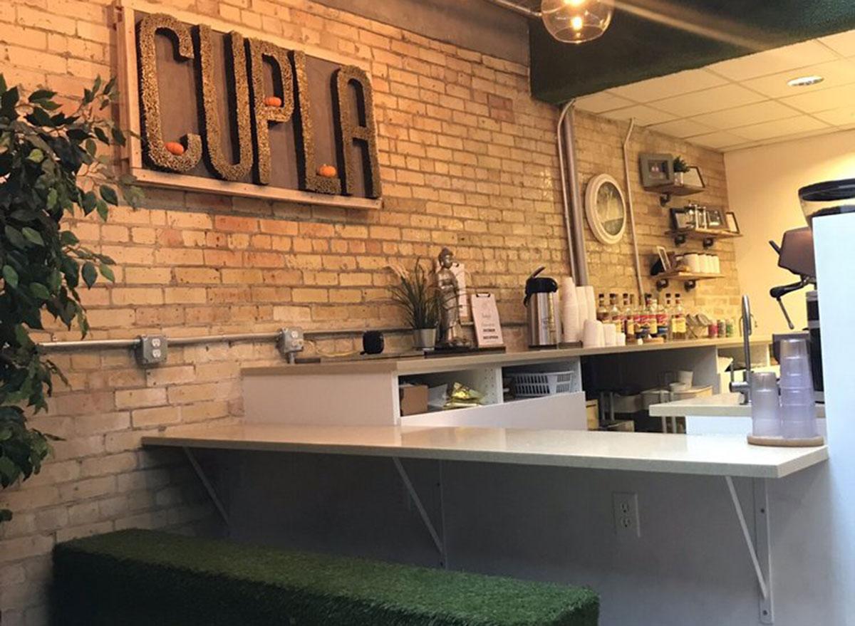 cupla coffee counter bar seeting