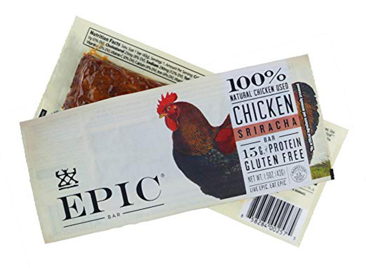 epic all natural meat bar chicken sriracha