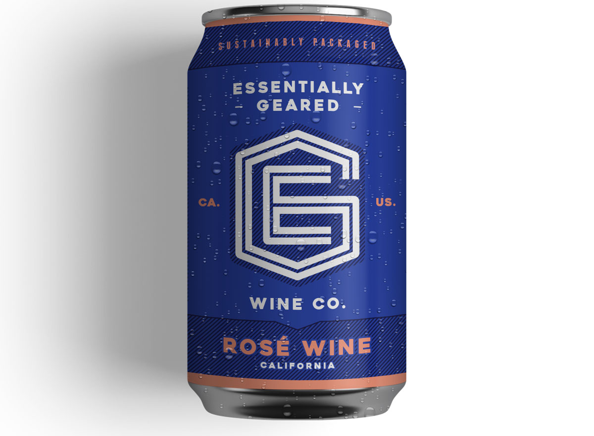 Essentially geared canned rose