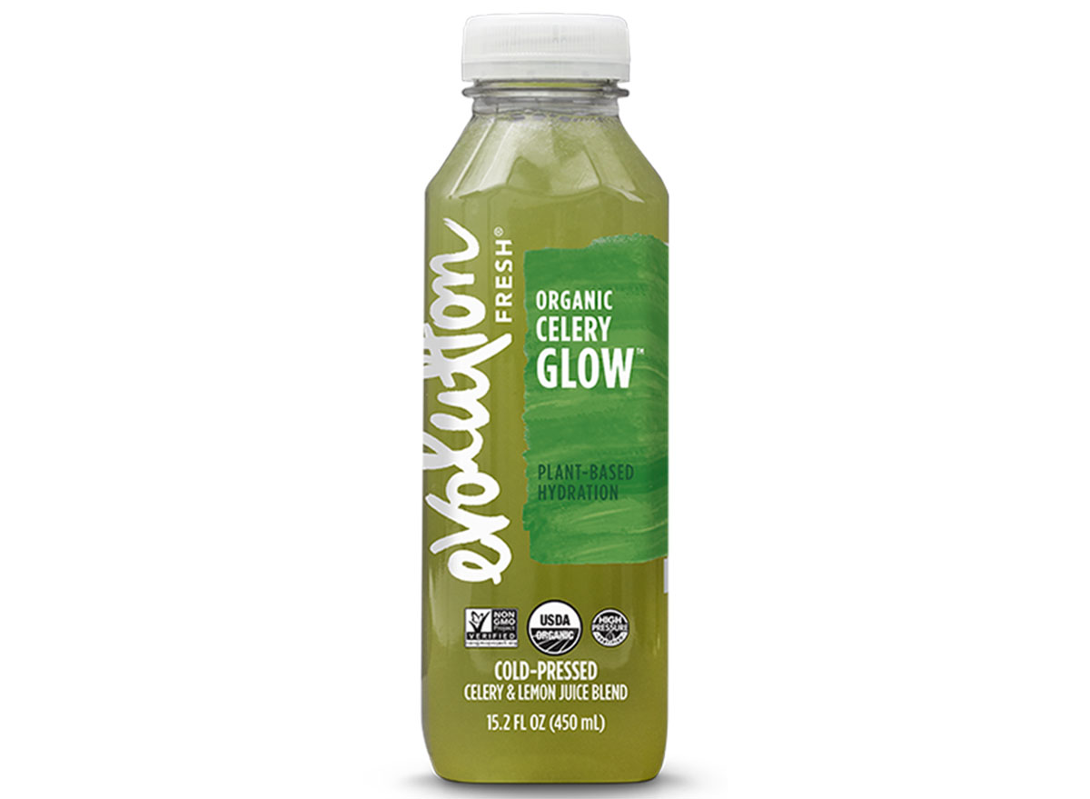 evolution fresh organic celery glow bottle