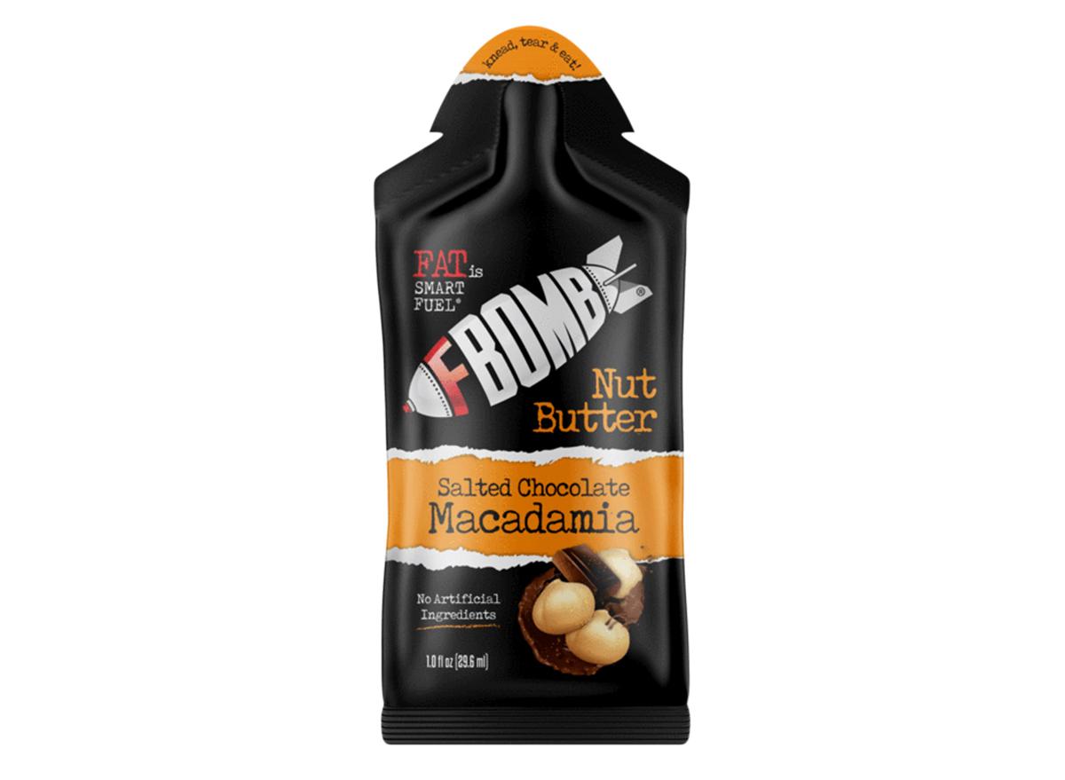 f bomb macadamia pecan nut butter with sea salt