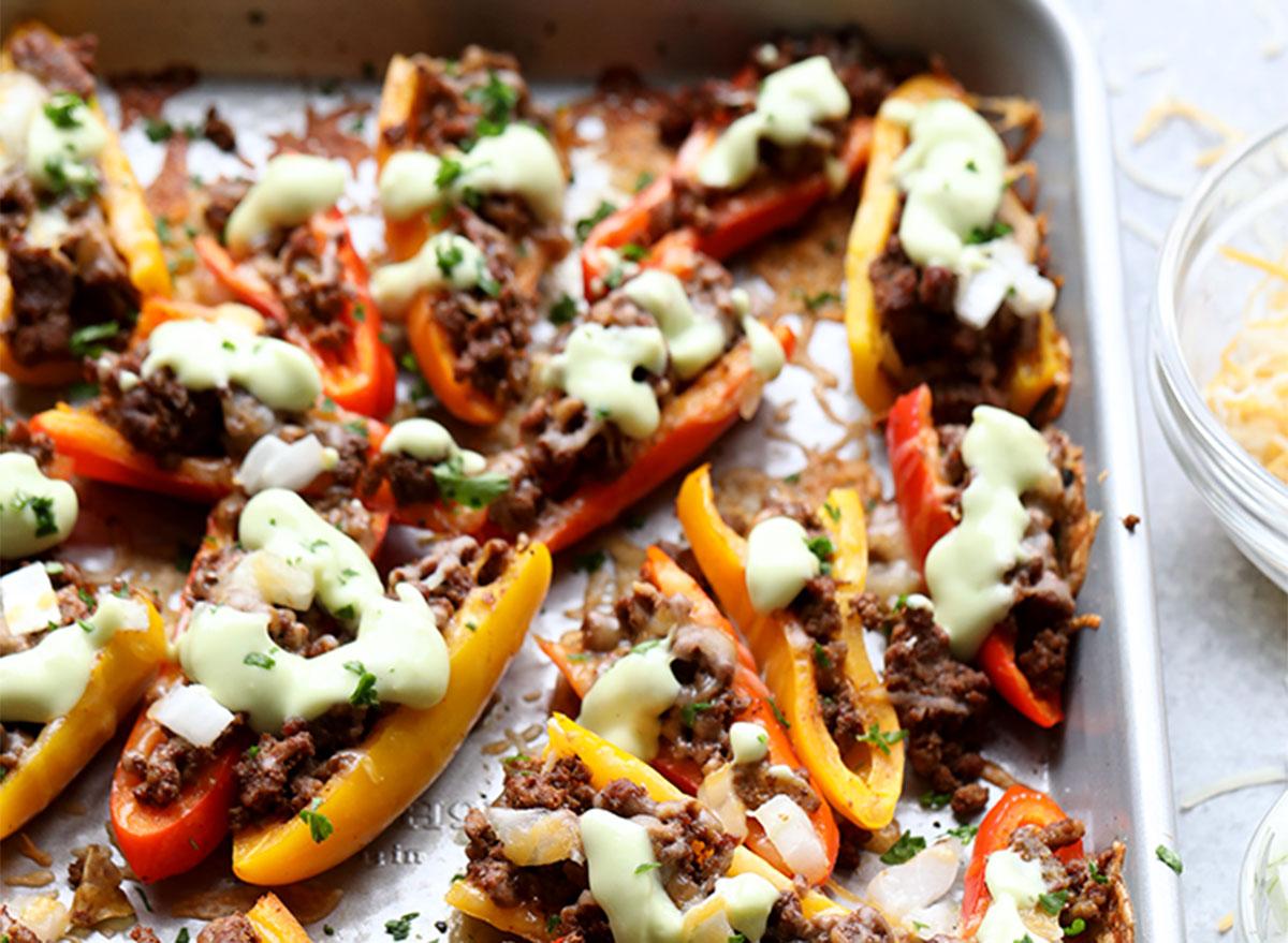 fajita nachos foodie finds recipe