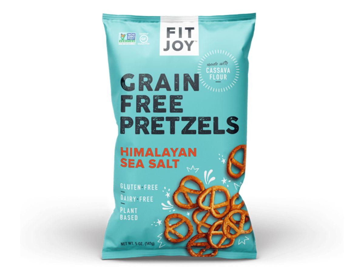 fitjoy grain free pretzels bag