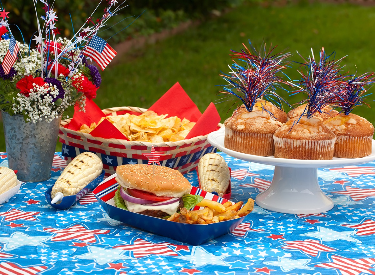 food at a fourth of july cookout