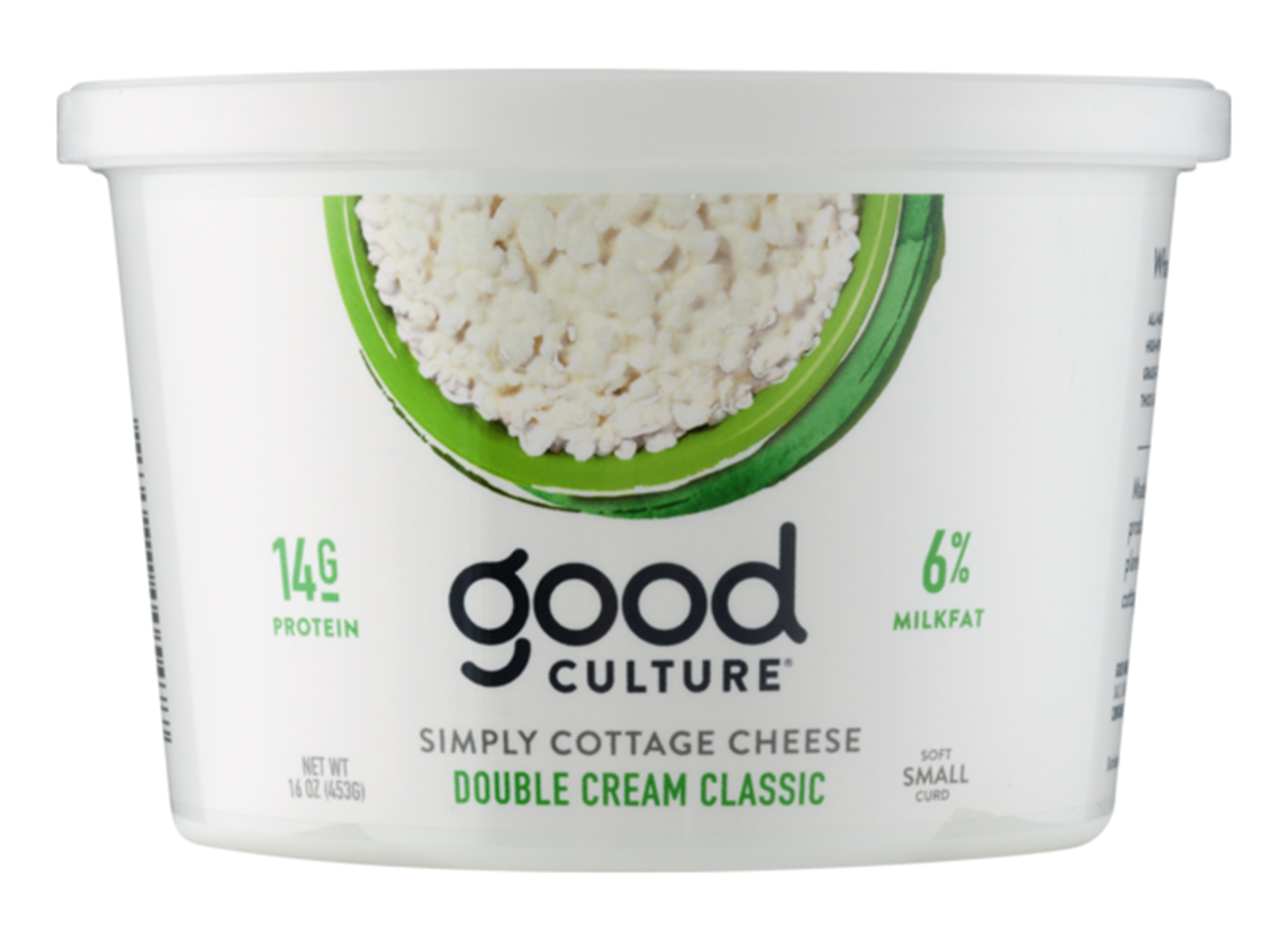 good culture cottage cheese double cream classic