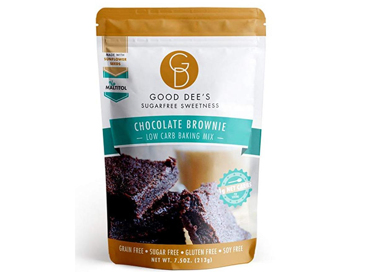good dees chocolate brownie mix