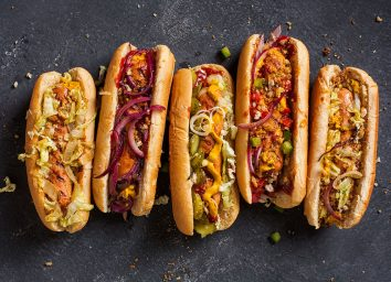 hot dog combinations with crazy toppings