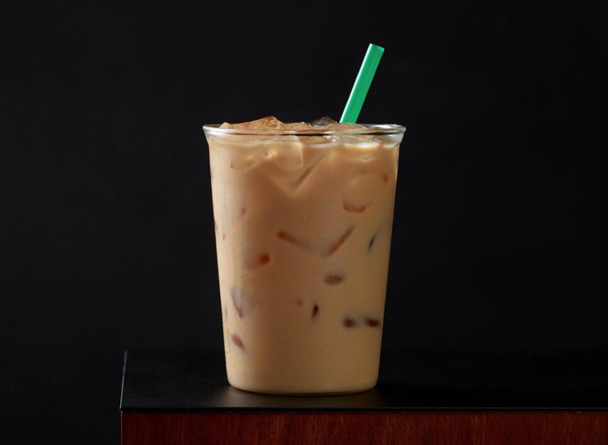starbucks iced caffe latte