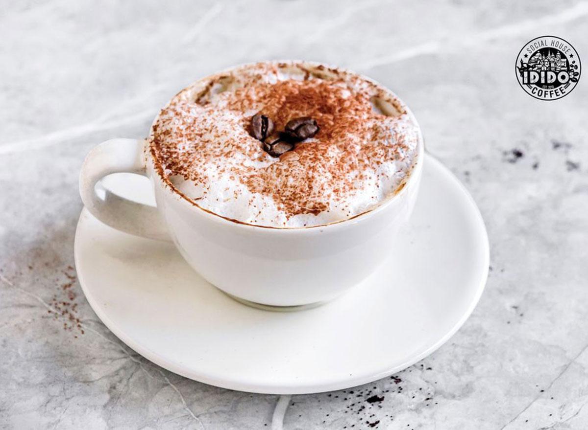 idido coffee social house coffee drink white mug