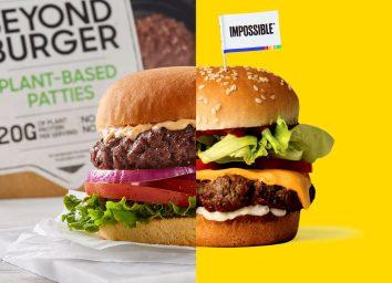 Impossible burger vs beyond burger side by side comparison