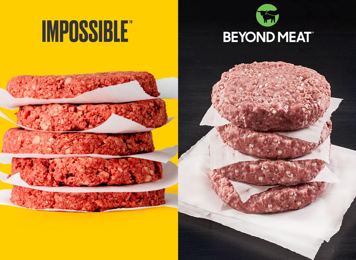 impossible vs beyond burger texture