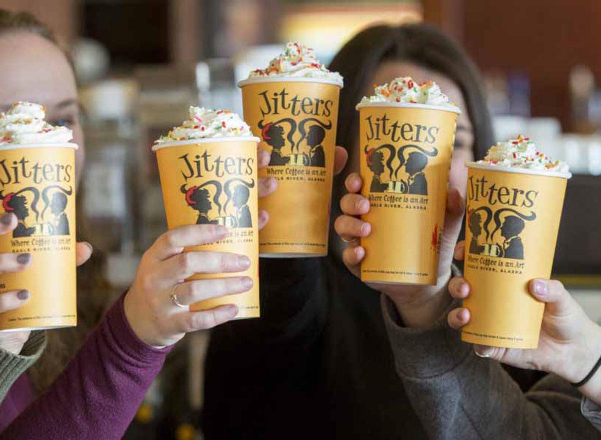 jitters coffee cups