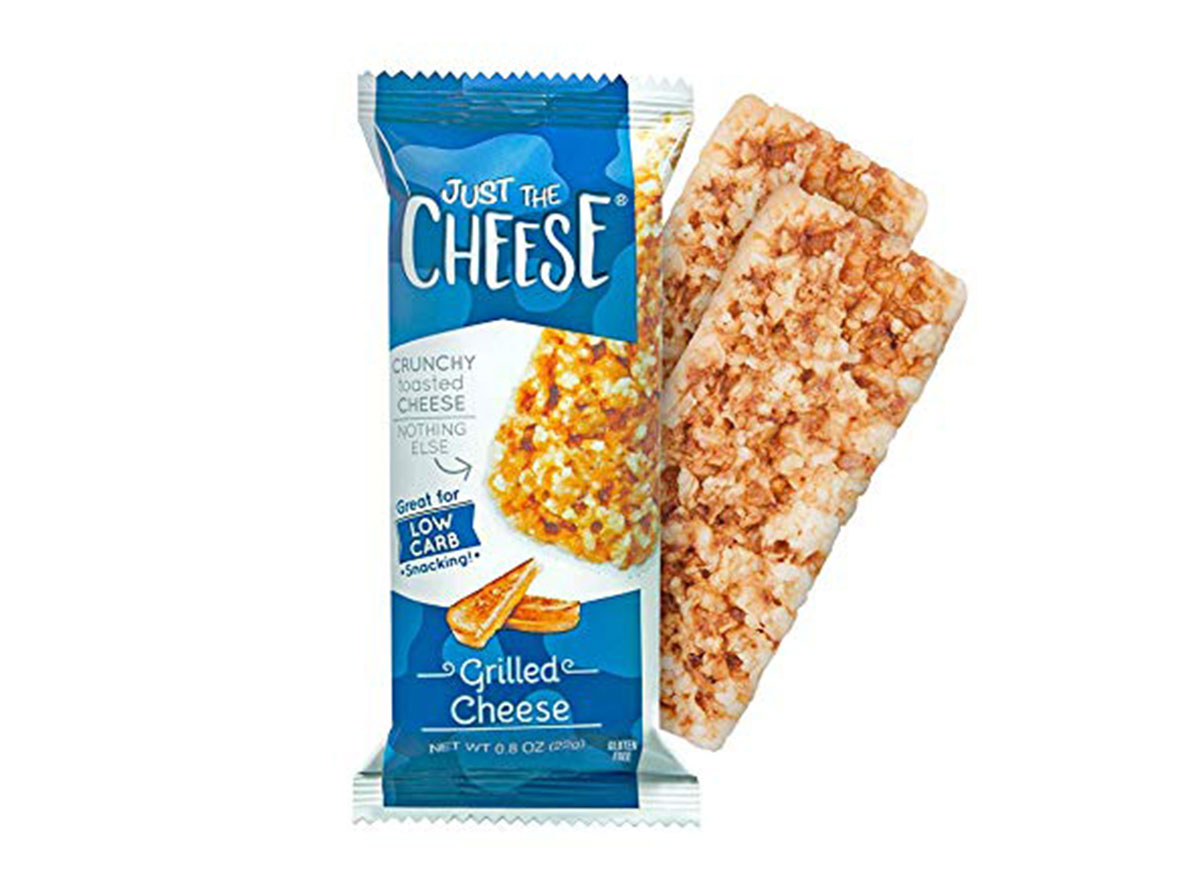 just the cheese baked cheese bars grilled cheese flavor