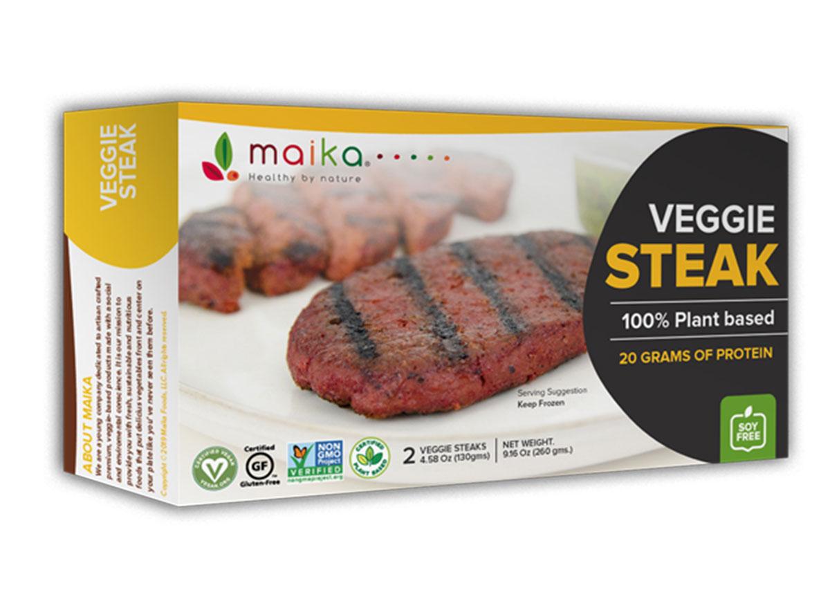 maika health by nature veggie steak filet