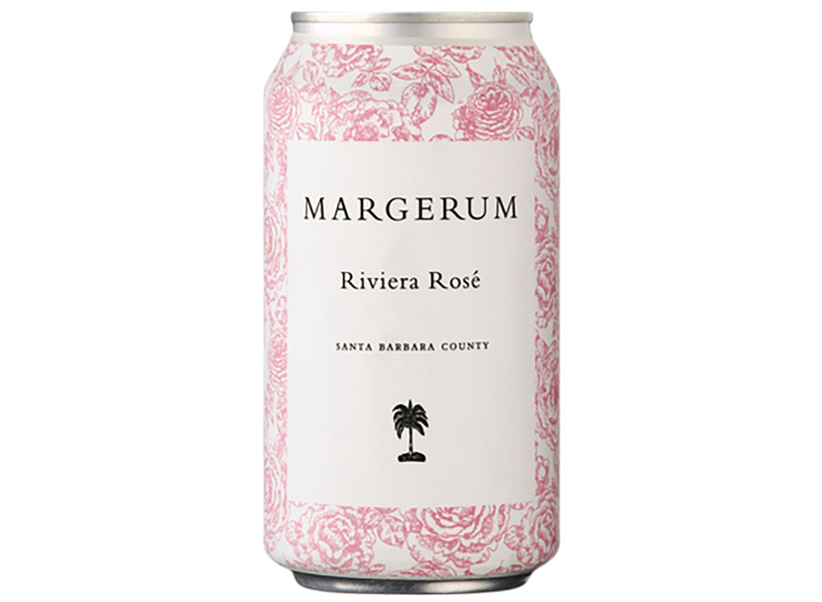 can of margerum riviera rose wine