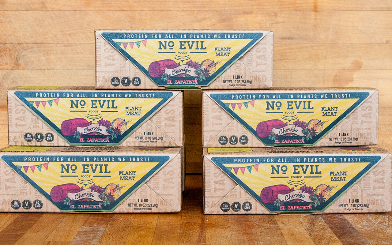 no evil foods plant-based chorizo