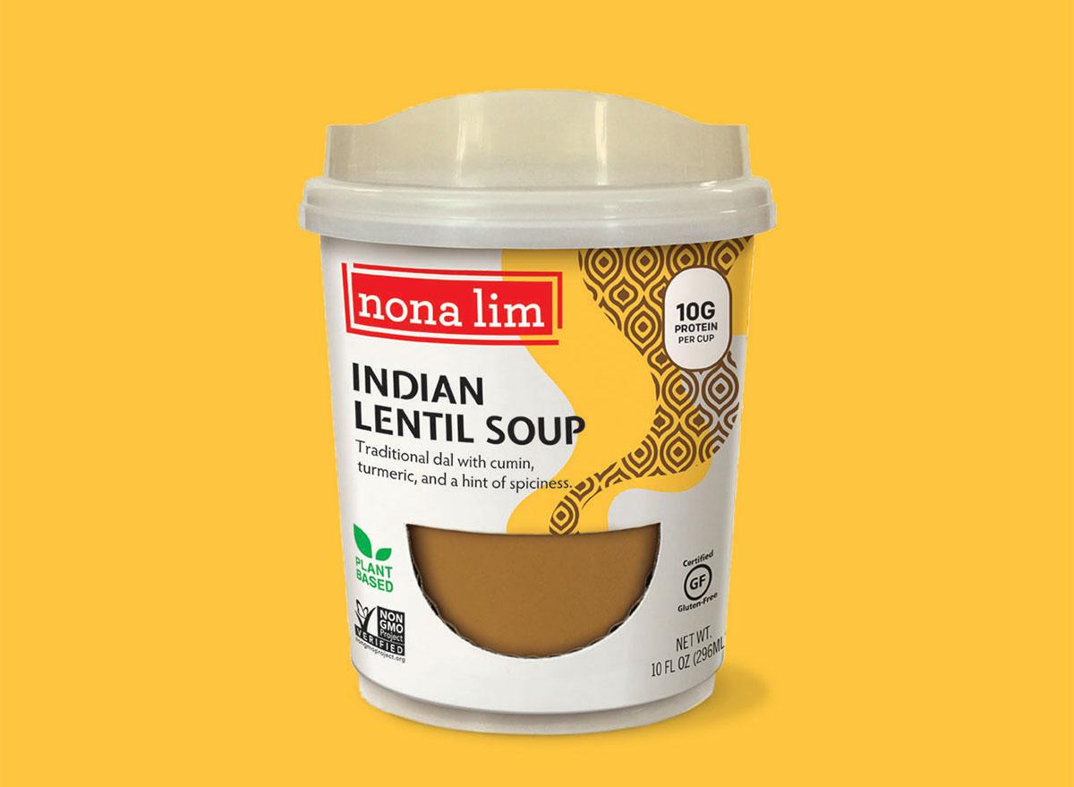 nona lim indian lentil soup heat sip cup