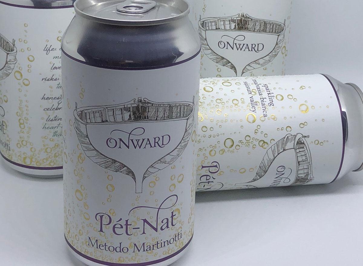 onward pet nat canned wine