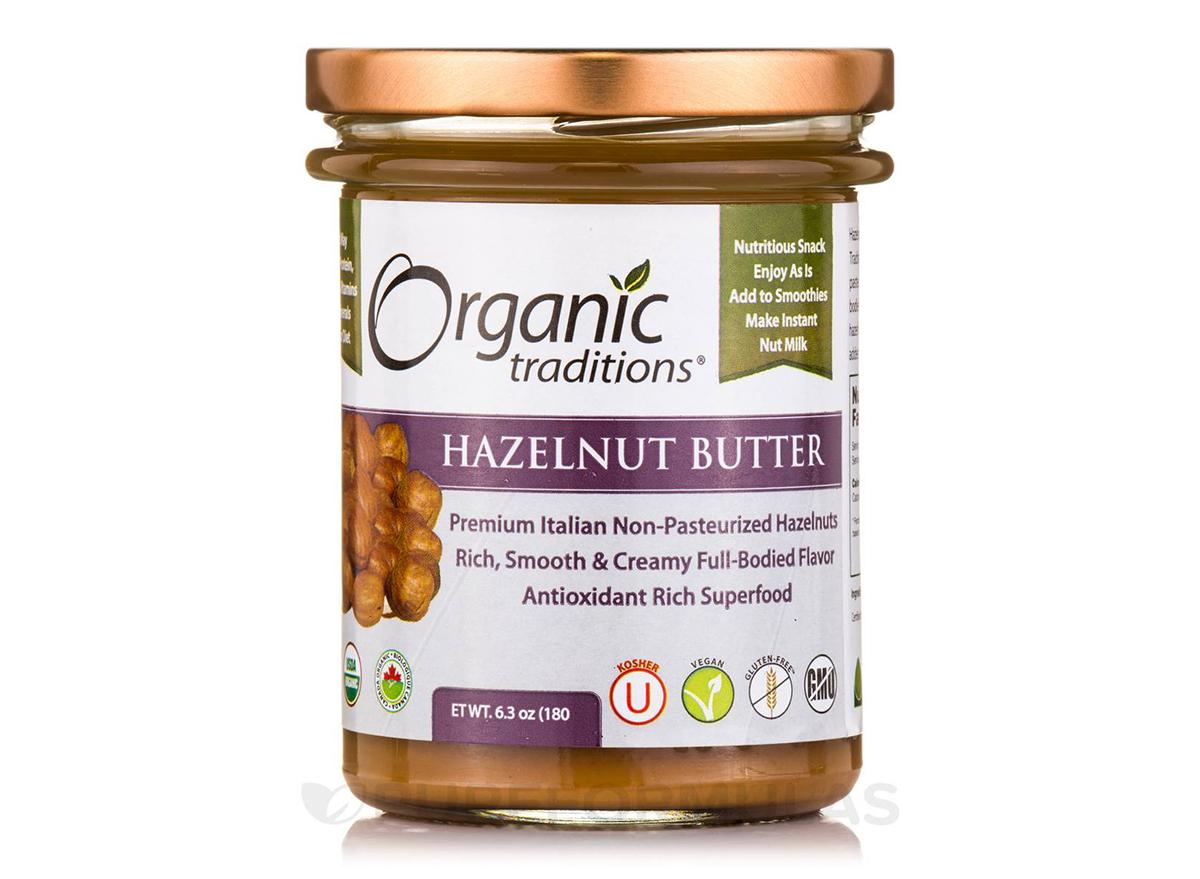 organic traditions roasted hazelnut butter