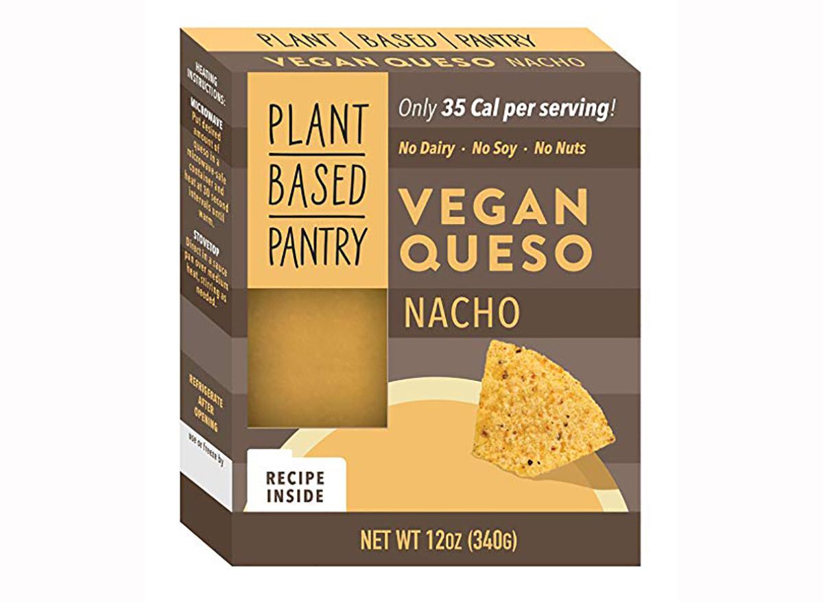 plant based pantry vegan queso nacho flavor