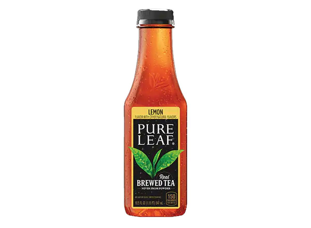 pure leaf lemon tea bottle