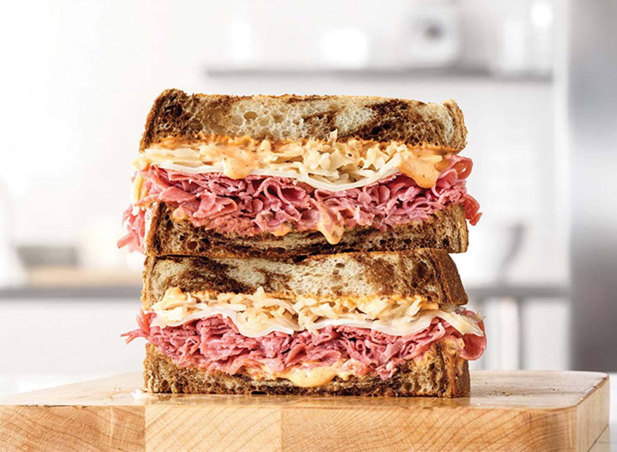 arbys reuben sandwich