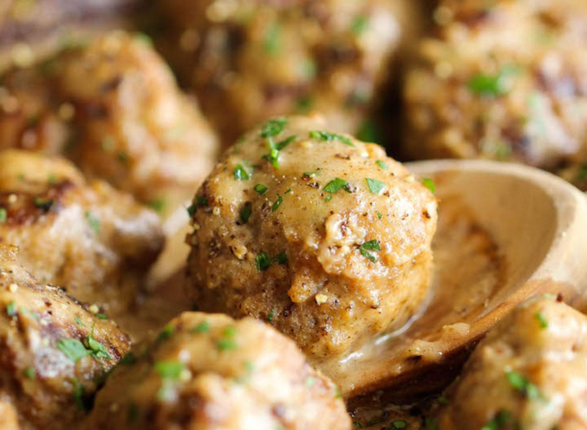 swedish meatballs damn delicious recipe