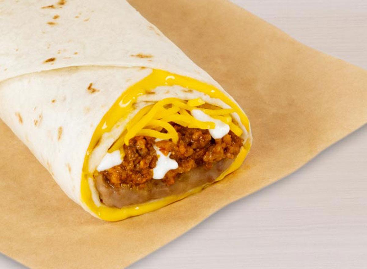 taco bell beefy 5 layer burrito worst