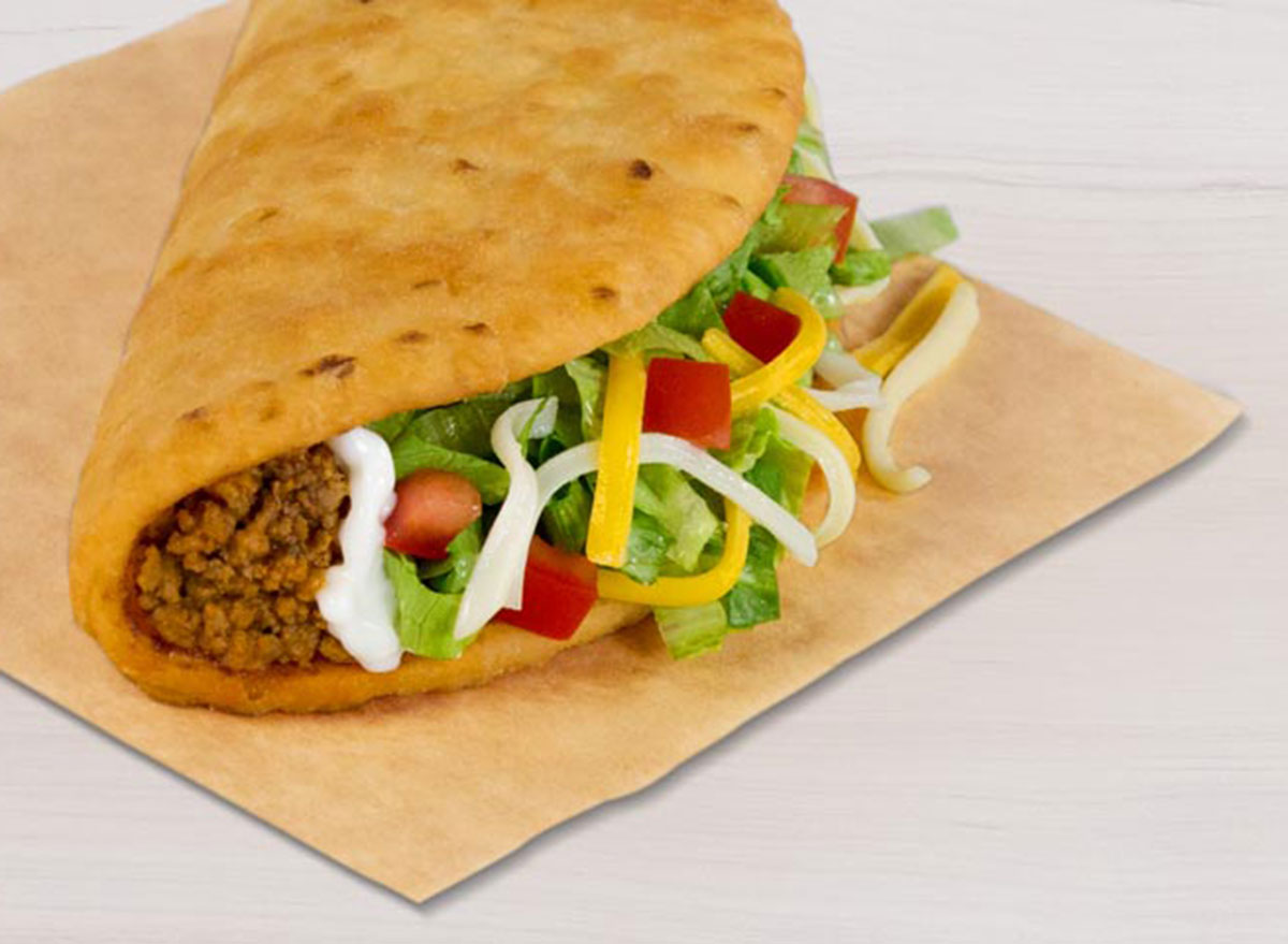 taco bell chalupa supreme beef worst