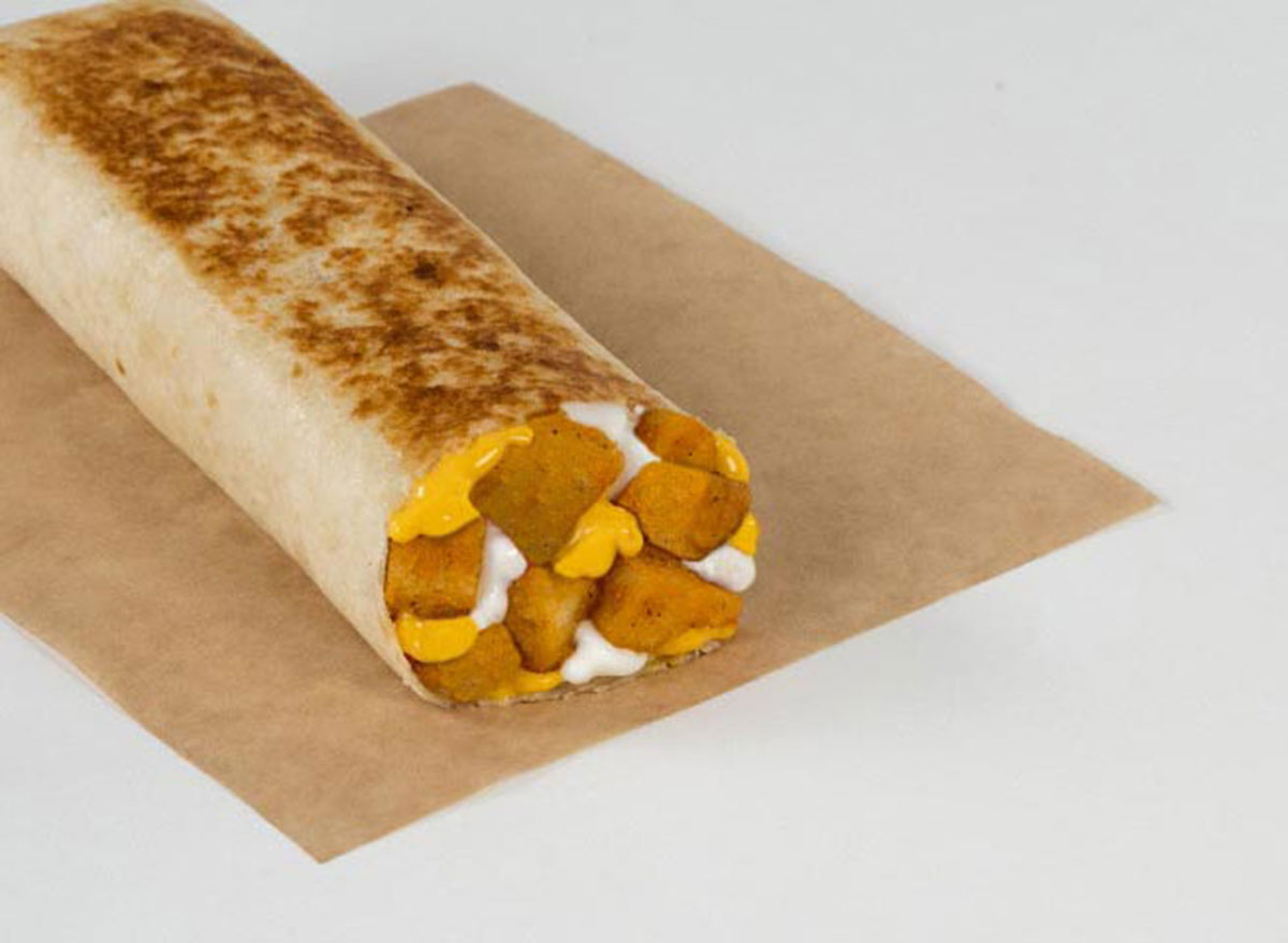 taco bell cheesy potato griller best