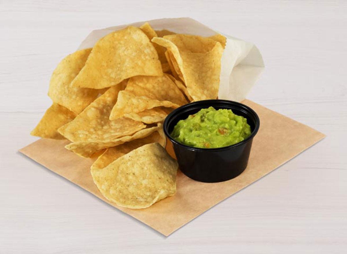 taco bell chips guacamole best