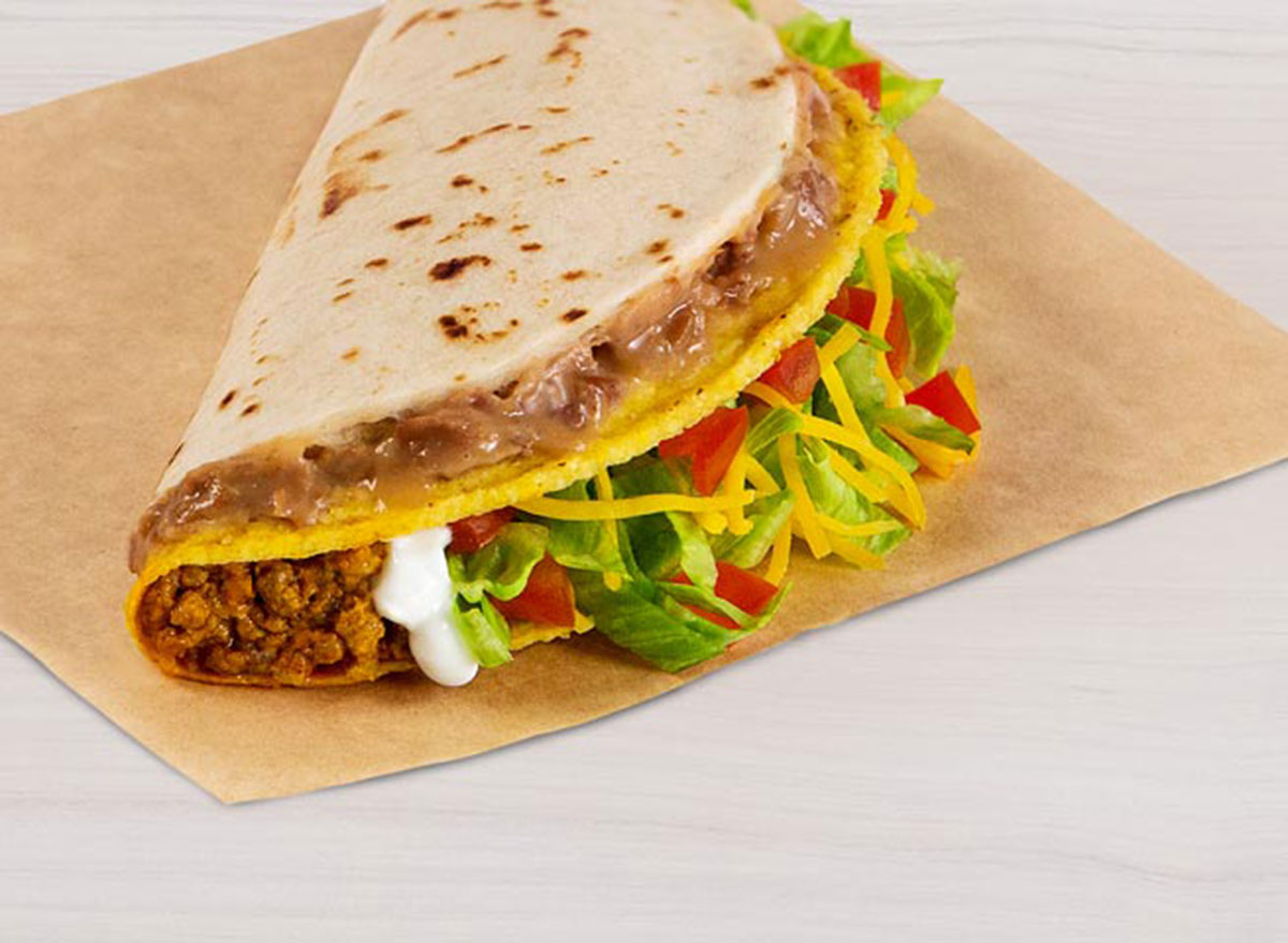 taco bell double decker taco supreme worst