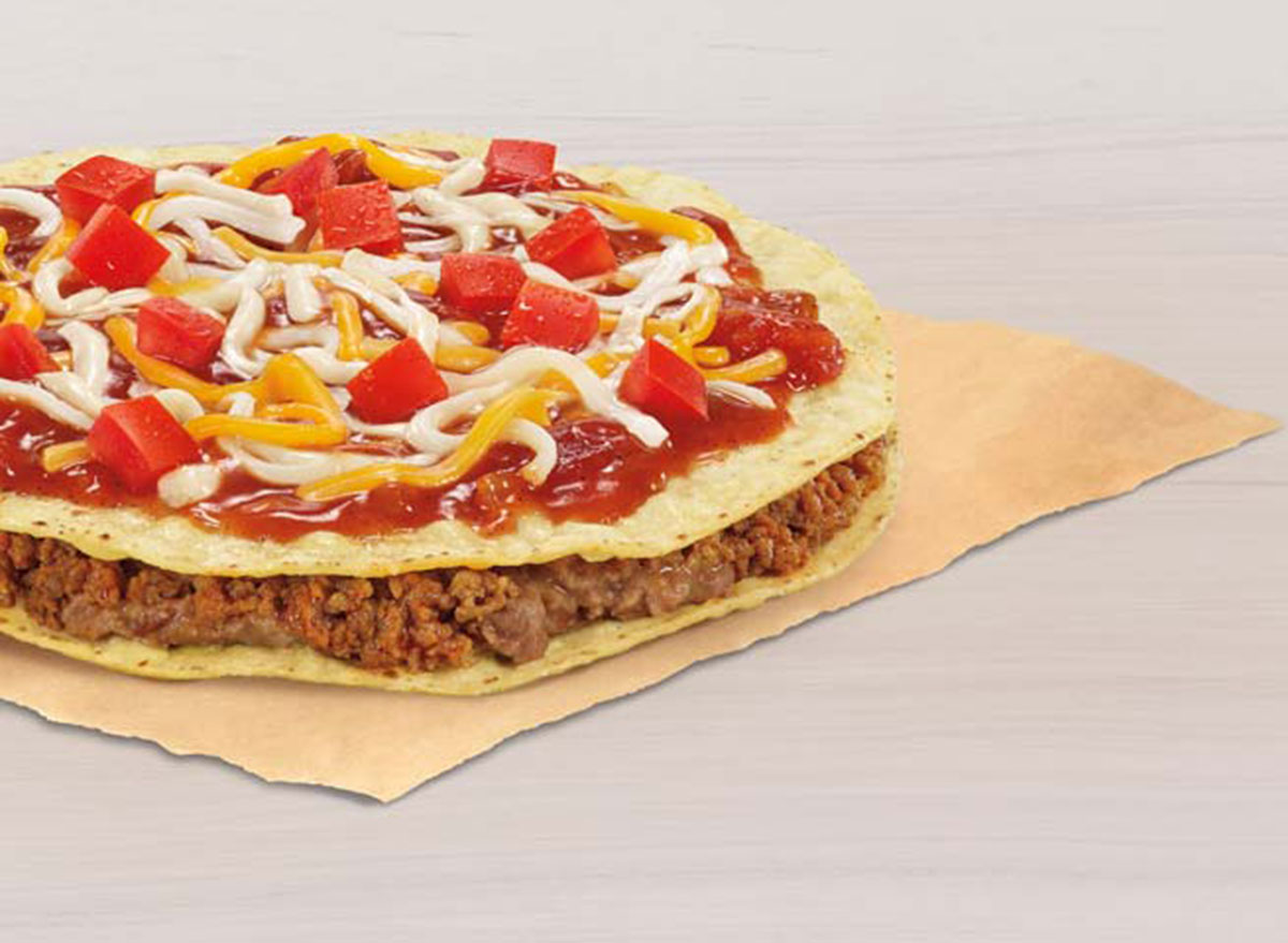 taco bell mexican pizza worst